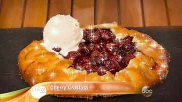 Cherry Crostata Video   The Chew