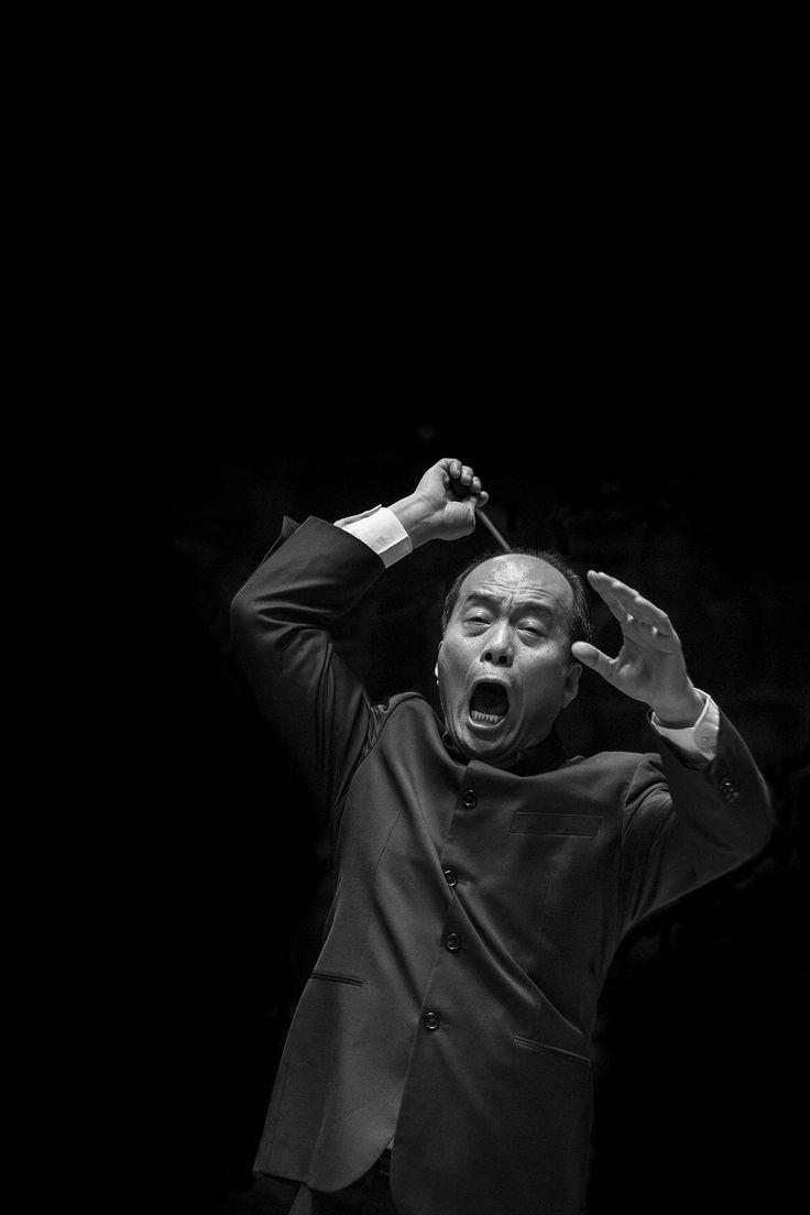 Mr Zhang Guoyong #conductor © Kotschy Gábor #mupa2014