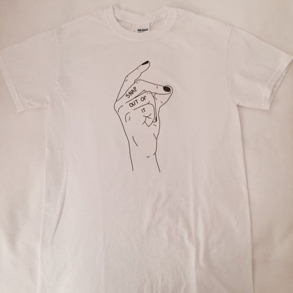snap out of it arctic monkeys t-shirt by EveningSunEnt on Etsy