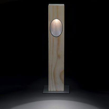 Bolardo de iluminación de jardín / moderno / de metal / LED - ELA by - iluminacion jardin