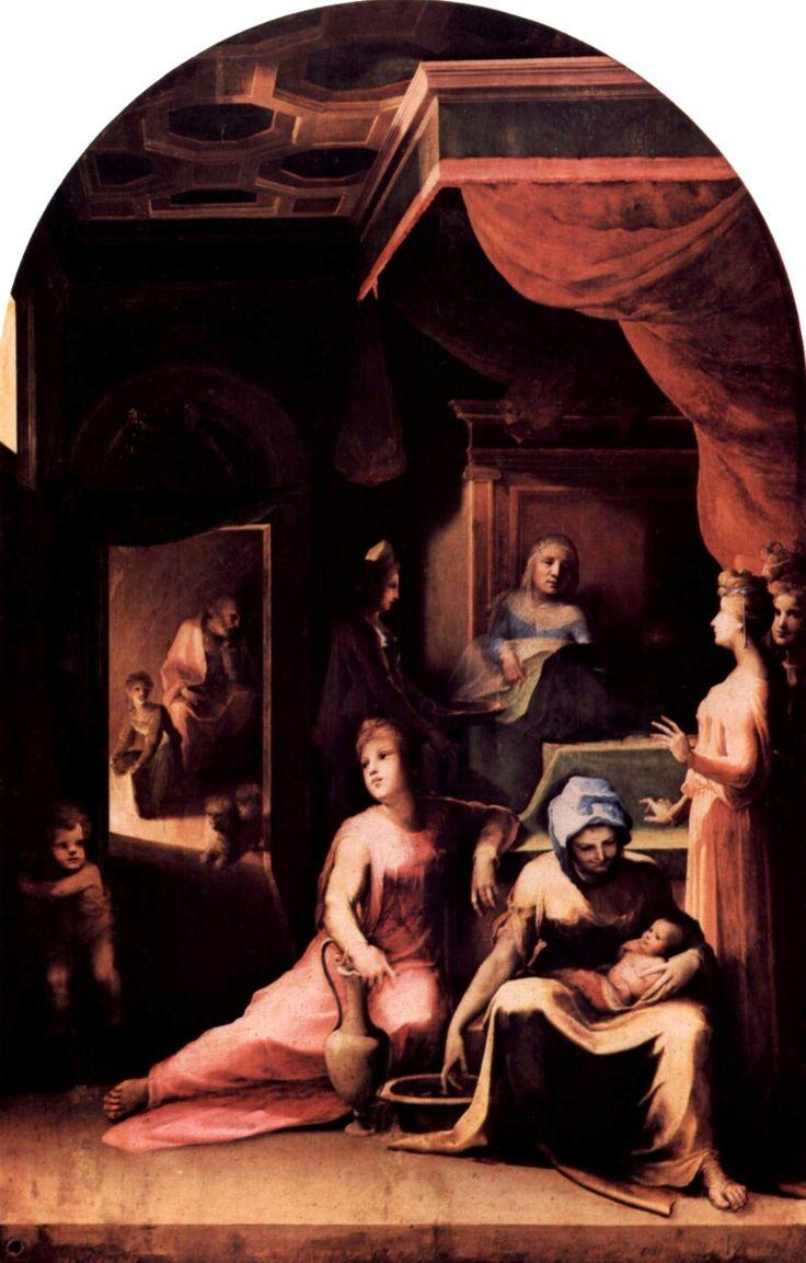 Natività della Vergine.  1543  Pinacoteca Nazionale di Siena