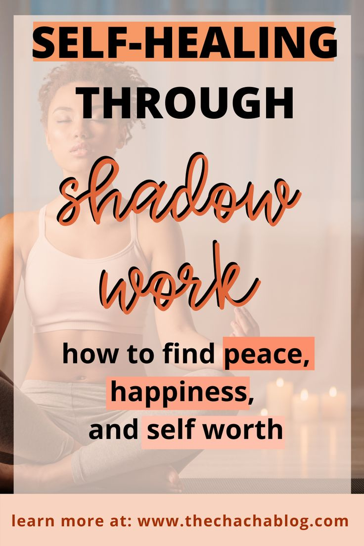 Find peace, happiness, and selfworth through shadow work
