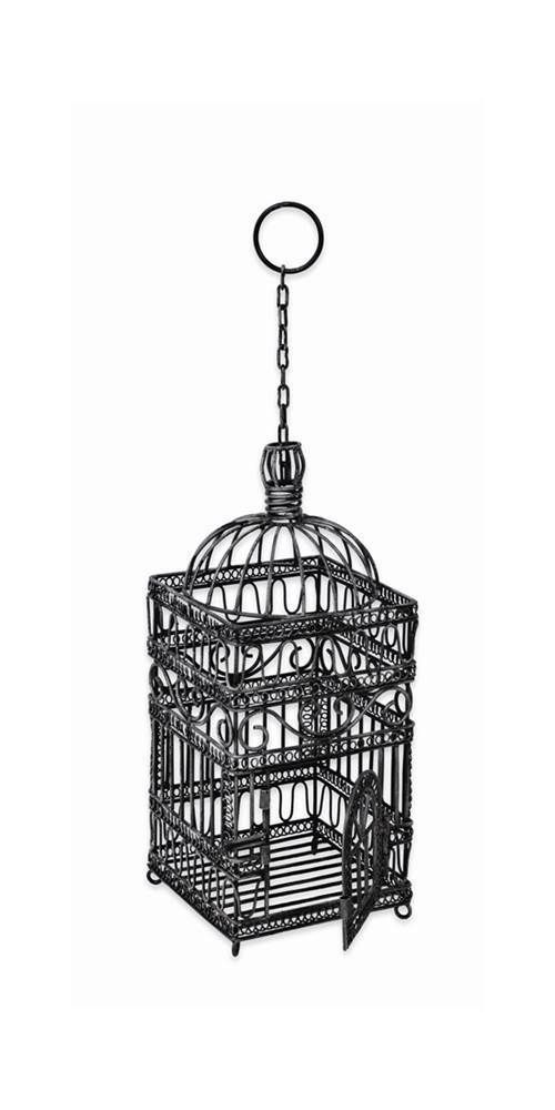Steel Old Victorian Bird Cage, Small [ID 6946] #Achla