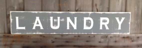 Sign Pictured measures 48x10  Sign color seal gray Font white Distressed Sign was sanded, primed, painted and lettered. I then roughed it up