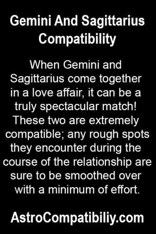 When Gemini and Sagittarius come together.... | AstroCompatibility.com