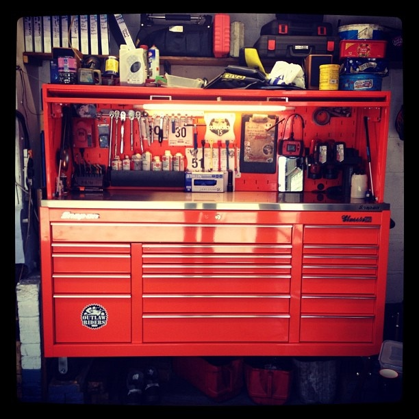 Nice Setup Garage Workshop Tools Tool Box