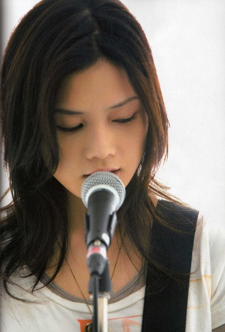 YUI. Japanese Female singer that i loved so much