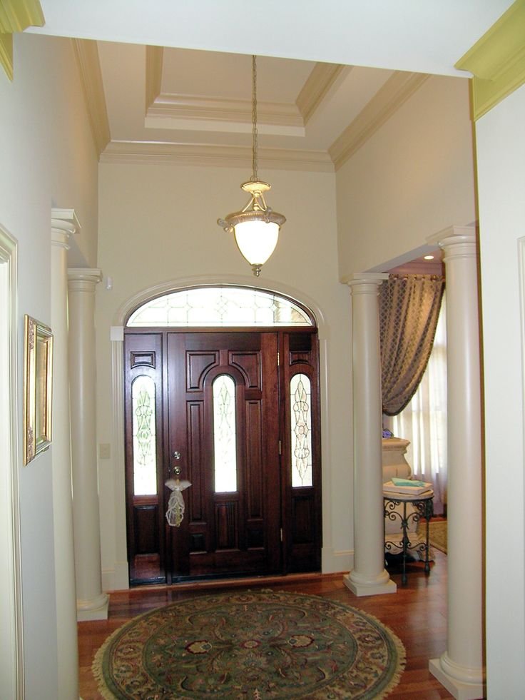 Inviting Foyer With Columns - plan #016D-0065 | houseplansandmore.