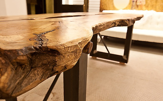 Conference Table: Mark Tuttle: Wood Conference Table - Artful Home