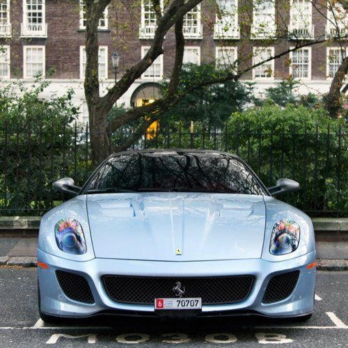 lkhkBaby Blue, Blue Cars, Ferrari 599, Luxury Sports Cars, Supercars, Italian Beautiful, Colors, Super Cars, Dreams Cars