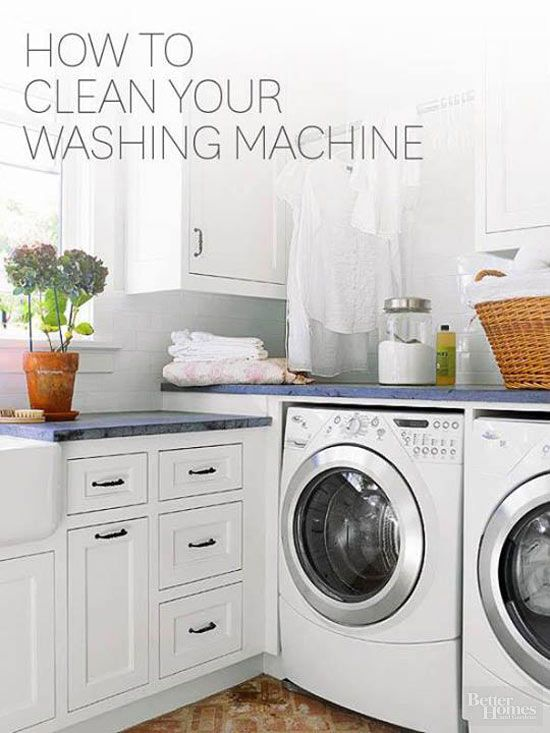 Better Homes and Gardens - How to Clean Your Washing Machine