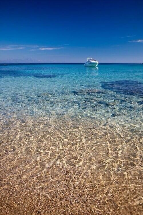 Crystal waters ~ Rhodes, Greece ...