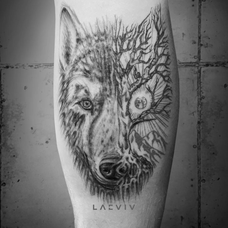 Unified with Nature by peterlaeviv. . . . . #wolf #wolftattoo #treetattoo #tree #moontattoo #moon #drawing #nature #tattoodesign #drawing #mountaintattoo #naturetattoo #lineworktattoo #sketch #minimaltattoo #geometric #night #animaltattoo #animal #geometrictattoo #naturetattoo #shootingstartattoo #calftattoo #tattooing #tattooartist #artist #tattooer #tattoos #inked #tattooprovocateur #ink #laeviv