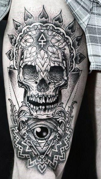 37 best Star Tattoos On Upper Leg images on Pinterest ...