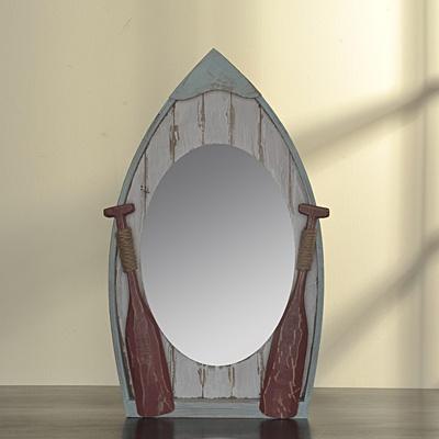 Nautical Mirror     List $64.99   SKU 115173   2.5inches widex 15inches longx 24.5inches high