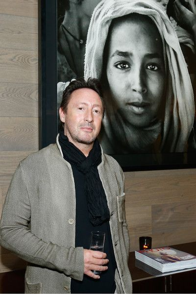 Julian Lennon attends his photo exhibition during the PHOTO HOUSE opening on June 2, 2016 in Brussels, Belgium.