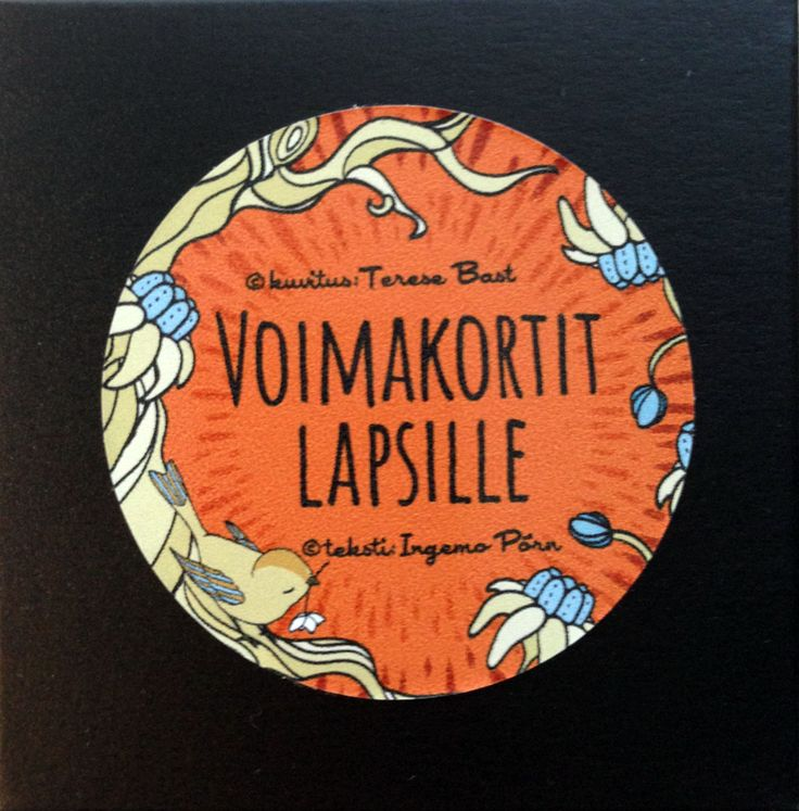 Voimakortit lapsille via Terese Bast Papershop. Click on the image to see more!
