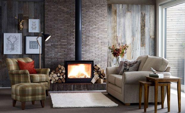 Bring woodland into a modern room