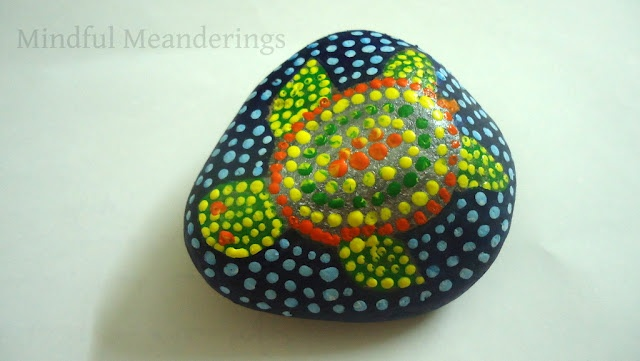Aboriginal art on a rock. Any elementary grade would love this. It would be awesome if it fits their curriculum