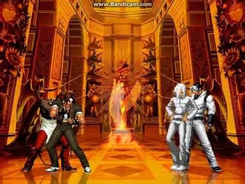KOF WOJ Darkness ~ Kyo & Iori Clone 10 & 9 vs Saiki & Sachiel