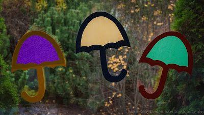 Askartelijan idealaari: Sateenvarjot vastaväreissä