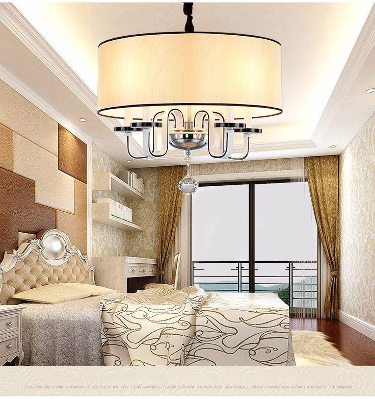 Высокое качество металла Краски современная люстра столовая спальная вилла люстра Освещение современная люстра купить на AliExpress
