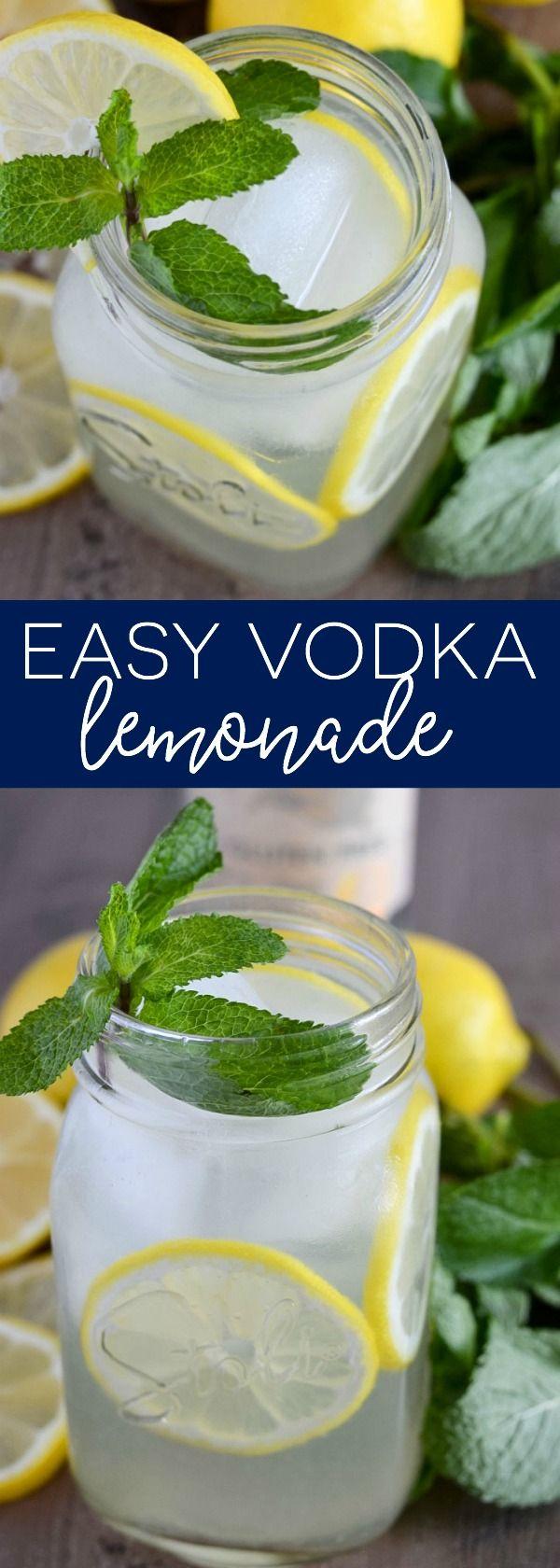 Easy Vodka Lemonade from What The Fork Food Blog | whattheforkfoodblog.com | Sponsored by Stoli gluten free.
