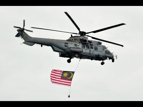 Royal Malaysian Air Force Tactical Transport Helicopter EC725
