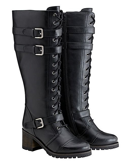Joe Browns Standard Lace Up Boots - so annoyed that my new Fable boots (so named because they look like my character's boots in Fable and are replacements for my previous pair, which finally died last year after 6 years of wear) are delayed for around 15 days! I bought them last week but won't see them until the end of the month