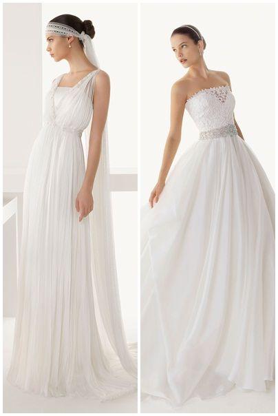 Trajes de Novia Rosa Clara Modelos Baltico y Belleza - Mas sobre la coleccion 2013 en http://bodasnovias.com/vestidos-de-novia-rosa-clara-2013/3934/ #brides