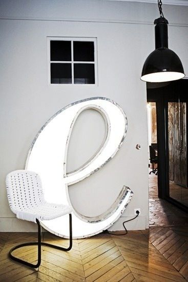 Marquee thesis chair