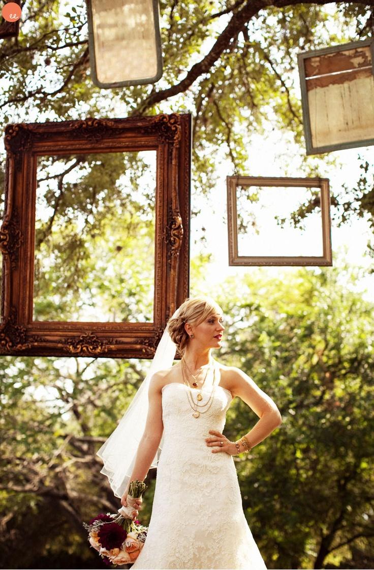 Future dreams vintage frames wedding pictures hanging frames