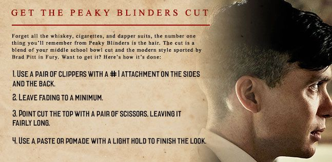 The Peaky Blinders Haircut
