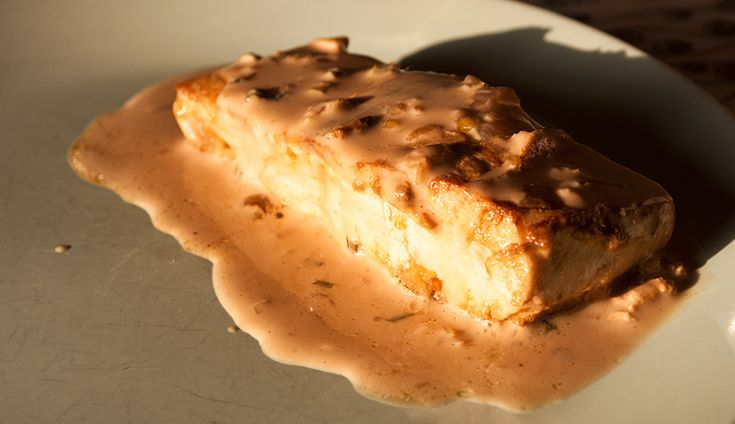 Filetti di salmone alla panna e Guinness