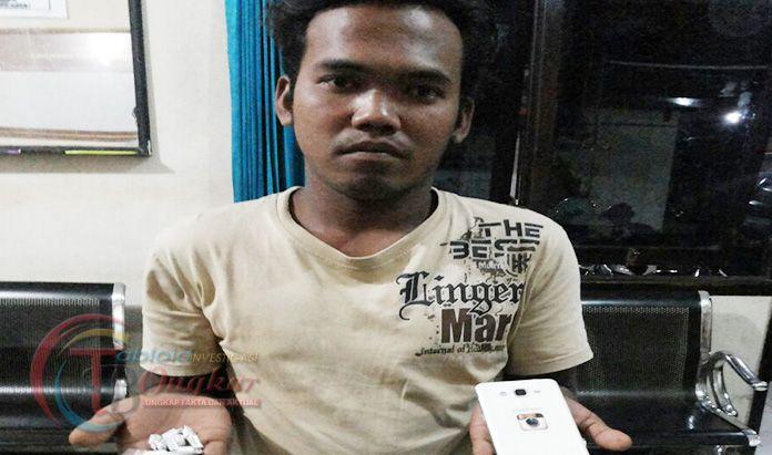 Kota Marmer Dihujani Narkoba, Pelaku Asal Nganjuk Berhasil Di Bekuk Polisi