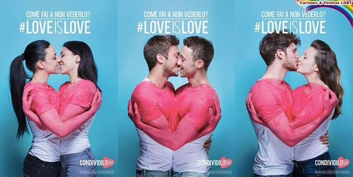 Love is love! Marriage equality. Please. Think.