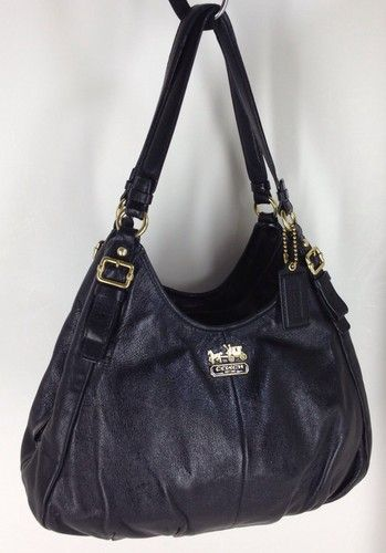 Madison Leather Maggie Shoulder Bag Ebay 79