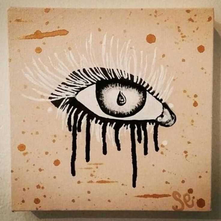 Buy Compulsion, a Acrylic on Canvas by Sarah Sandmann from South Africa. It portrays: Body, relevant to: painting, abstract expressionism, eye, Box mounted, modern Acrylic on box mount stretched canvas. The eye is a window, so much can be exchanged in just one fleeting glance, one moment of eye contact, one teardrop falling...