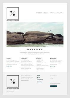 design clean website design simple website modern web design web