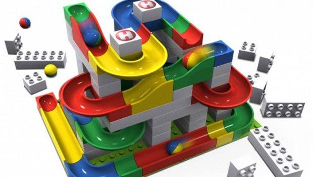 Hubelino, Hubelino knikkerbanen, Hubelino speelgoed, jongensspeelgoed, Duplo, jongenscadeau