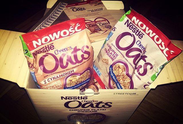 :)  #CheeriosOats #ChrupkiePlatkiOwsiane #Streetcom #owsiane #Nestle #płatkiowsiane #cynamon https://www.instagram.com/p/9fy5TbDd2h/