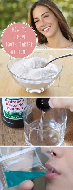 Remove tooth tartar in between dentist visits with this easy and safe solution. Don't allow tartar to build up and cause periodontal diseases! Plus, who doesn't want a nice white smile.  http://www.ehow.com/how_7383885_remove-tooth-tartar-home.html?utm_source=pinterest.com&utm_medium=referral&utm_content=inline&utm_campaign=fanpage