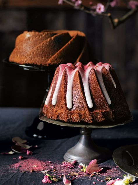 Salted Coconut And Raspberry Bundt Cake | Donna Hay