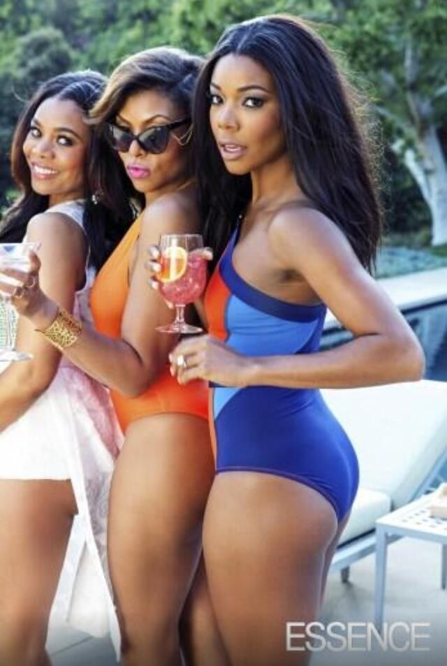 Look at Regina Hall, Taraji P Henson and Gabby stunting on ALL OF US! Whew.