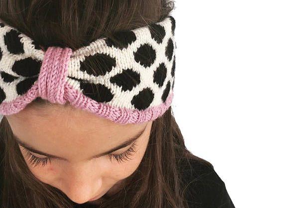 Merino wool Headband, Girls turban Headband, knitted Hairband.