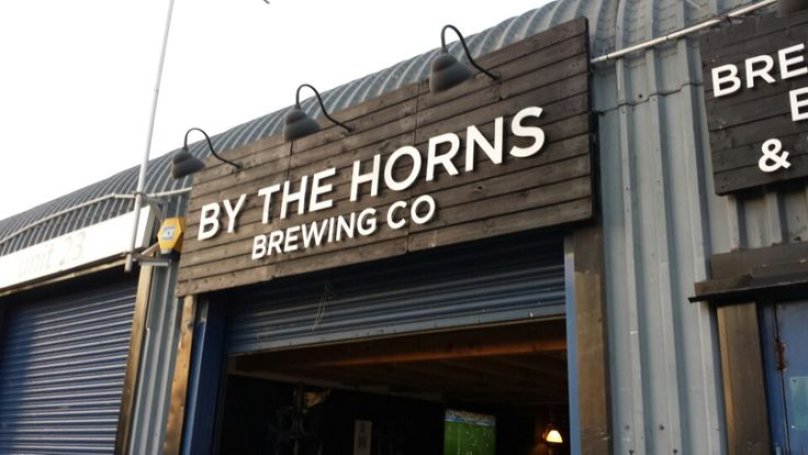 By The Horns Brewing Co. 25 Summerstown, Wandsworth, London, SW17 0BQ. Open Saturday: 12pm-6pm