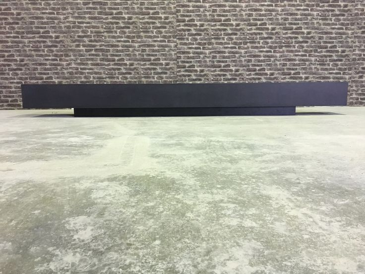 Polished concrete 'floating' shelf by Mitchell Bink Concrete Design. www.mbconcretedesign.com.au