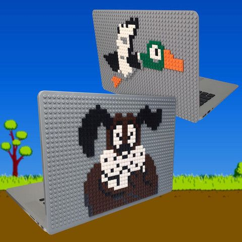 Duck Hunt MacBook Case from BrikBook.com duck hunt, classic, zapper, nest, nintendo, retro, mr goomba, hunting season, duck hunting, video games, macbook, macbook case, pixel, pixel art, 8bit Shop more designs at http://www.brikbook.com #duckhunt #classic #zapper #nest #nintendo #retro #mrgoomba #huntingseason #duckhunting #videogames #macbook #macbookcase #pixel #pixelart #8bit