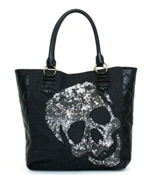 - SEQUIN SKULL TOTE LOUNGEFLY OFFICIAL WEBSITE