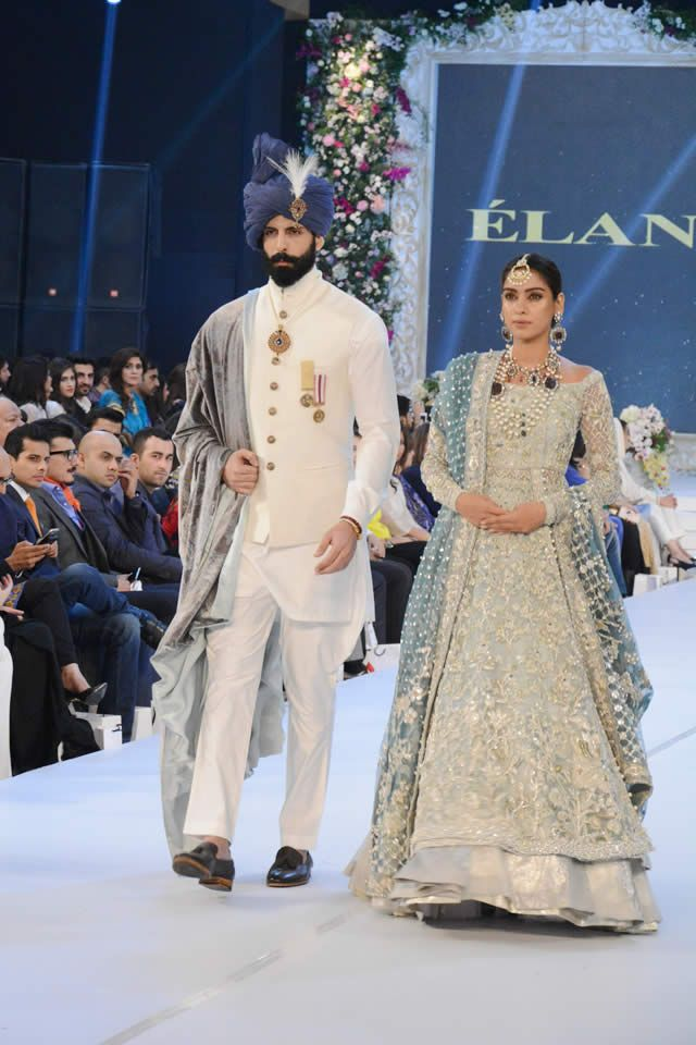 Elan Collection PFDC Loreal Paris Bridal Week 2015 Pics